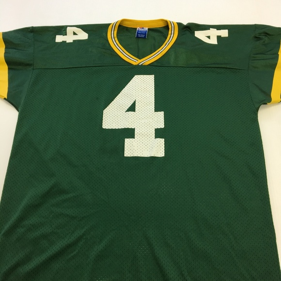 3f842b31ac3 Champion Shirts | Vintage Green Bay Packers Jersey 90s Favre Nfl 48 ...
